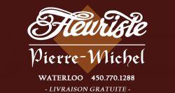 Logo fleuriste Pierre Michel